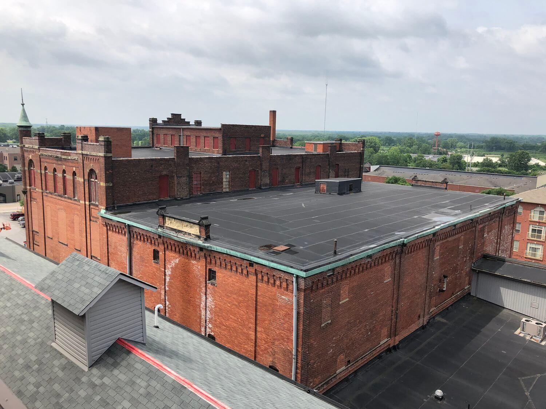 Asbestos Abatement at 477 S. Front St. in Columbus, Ohio