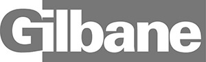 Gilbane Logo in Black and White
