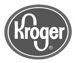 Kroger Logo in Black and White