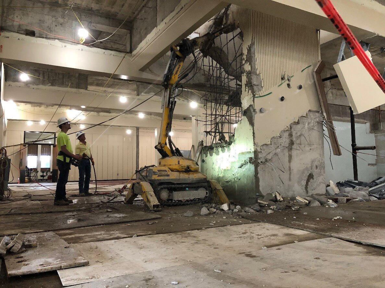 University Construction and demolition of Eastern Kentucky University (EKU) Powell Student Center