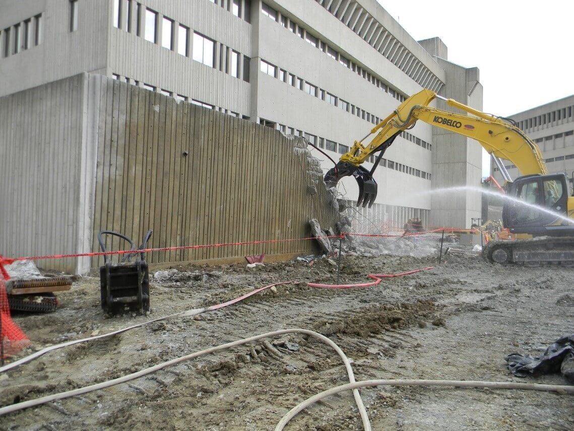 University Construction and Demolition at Northern Kentucky University (NKU) Found Hall