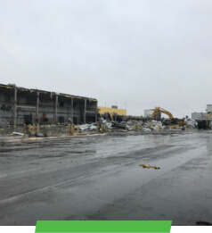 Amazon Demolition and Construction by Sunesis Environmental