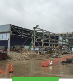 Columbus Convention Center Demolition and Construction by Sunesis Environmental