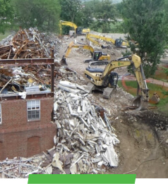 Ohio State Athletic Fields Demolition and Construction by Sunesis Environmental
